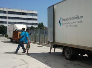 transport mobila cu manipulare